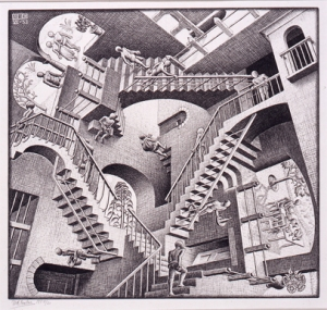 Escher, Portrait of a Woman's Mind