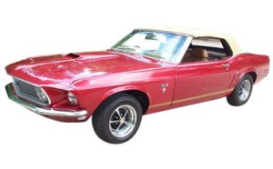 Carl's 1967 Mustang launch vehicle