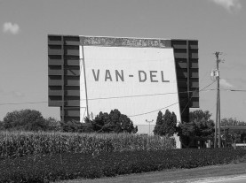 Van Del Drive In Movie Theatre