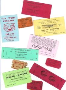 Van Wert Ohio tickets .......