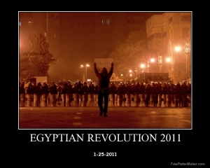 Egyptian revolution Walk like an Egyptian