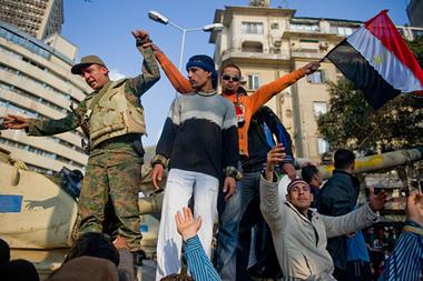 Tahrir square picture